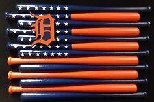 Detroit Tigers Custom Baseball Bat Flag
