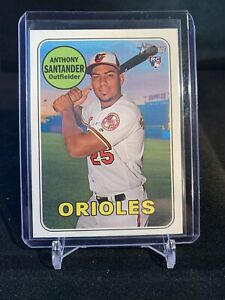 2018 Topps Heritage High ANTHONY SANTANDER RC ROOKIE Baltimore Orioles Star #640