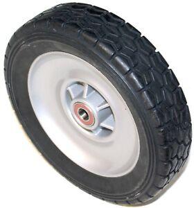 Hustler 71041-144 Solid Tire / Wheel Assembly - Hustler M1 Drive Wheel 9.6 x 2.5