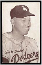 1947-66 Exhibits DUKE SNIDER