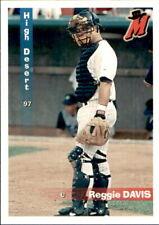 1997 High Desert Mavericks Grandstand #4 Reggie Davis Winston Georgia GA Card