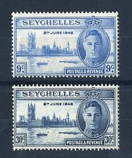 George VI (1936-1952) Postage Seychellois Stamps (Pre-1976)