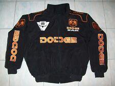 NEU DODGE RAM MAGNUM V8 Fan- Jacke schwarz(orange) jacket veste jas giacca jakka