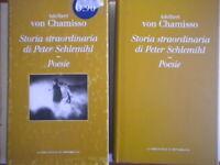 Storia straordinaria di Peter Schlemihl poesievon chamisso libro + cofanetto 91