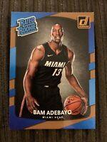 2017-18 Donruss Bam Adebayo Rated Rookie RC #187 Miami Heat