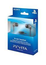 Oreillettes intra-auriculaires PS Vita 2000,1000,Ps4,Ps3  Officiel Neuf En Stock