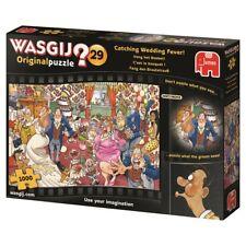 Wasgij Puzzle 1000 Piece Cartoon Jigsaw Catching Wedding Fever Comic Original 29