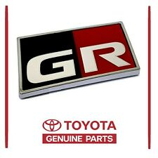 2020 GENUINE TOYOTA SUPRA REAR GAZOO RACING GR EMBLEM LABEL 75430-14010