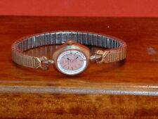 Pre-Owned Vintage Women's Helbros Gold Tone Hand Wind Dress Watch (Parts Only)
