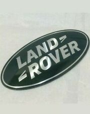 NEW OEM LAND ROVER DISCOVERY 3 OVAL GRILL BADGE UPGRADE GREEN-SILVER x1