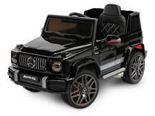 Kinder Elektroauto Mercedes AMG G63 V8 Black 12V Kinderauto elektrisch B-Ware