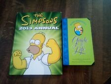 The Simpsons: 2013 Annual & Bart Simpson's Guide To Life, HB, Pre-owned