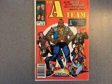 New listing The A-Team #1 (1984) Marvel comics Newsstand