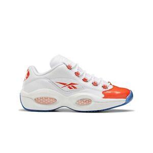 Reebok Question Low Patent 'Vivid Orange' (white/orange) Men's Shoes FX4999