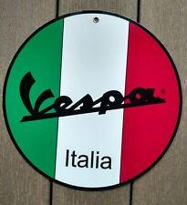 Vespa Owners Club sign ...scooter Piaggio Lambretta
