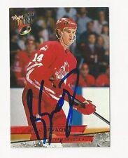93/94 Ultra Autographed Hockey Card Brian Savage Team Canada