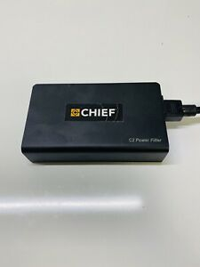 APC CHIEF C2 2-Outlet C-Type A/V Wall-Mount Power Filter
