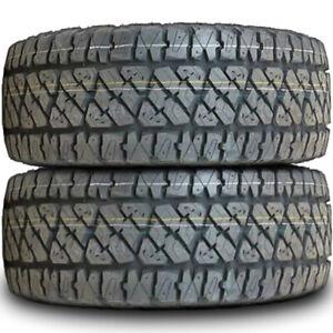 2 Tires Thunderer Ranger A/TR LT 31X10.50R15 C 6 Ply (DC) AT A/T All Terrain