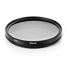 Meking 62mm CPL Polarizing Lens Filter for Canon Nikon Sony Pentax Sigma Olympus