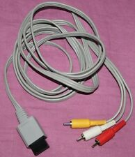 NINTENDO WII Cable Audio/vidéo RCA Officiel NINTENDO RVL-009 (EUR) original