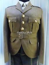 """Scottish Lowlands Regt Kilt Cut Army FAD No2 Uniform Jacket Scots Doublet 30"""" ch"""