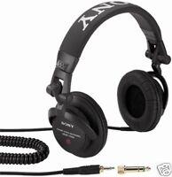 SONY MDRV500DJ Studio DJ Headphones: MDR-V500DJ