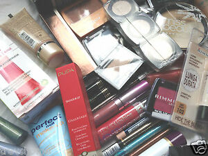 Joblot Brand Make Up Mixed Items Foundation Lipstick Eyeshadow Lipgloss Mascara