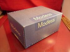 VINTAGE MODESS FEMININE PADS SANITARY NAPKINS SEALED BOX OF 12 PADS NOS 50's ?