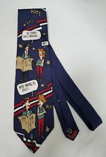Classic Silk Novelty Necktie Political Election Voting Comedy 57.75 by 3.75 Inch