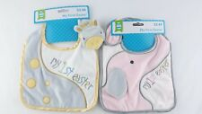 (2) My First Easter Baby Animal Bibs