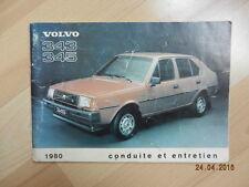 Notice d'utilisation VOLVO 343 345 1980