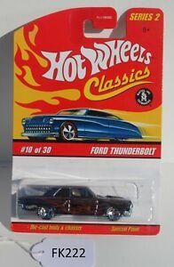 Hot wheels Classics Series 2 Ford Thunderbolt  #10/30 FNQHotwheels FK222