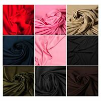 100% Rayon Plain Luxury Quality Fabric Material Upholstery Crafts