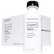 Soylent Ready to Drink Food, Original, 14 oz Bottles, 12 Count