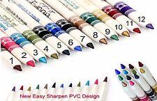 Easy Sharpen Shimmer Eye Shader & Eye Liner Pen Glides on Many Colours to Choose