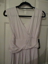 BNWT LADIES M&S WHITE DRESS SIZE 14