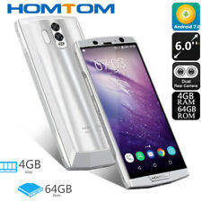 10000mAh Android 7.0 TOUCH ID 6.0''HOMTOM HT70 4G Smartphone 64GB 18:9 Cellulare