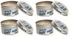 4 X Dax Hair Wax WASHABLE 99g Tin