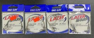 Lot of 306 Packs of 3 Eagle Clay Lazer Sharp Ultra Thin Leaders Resale Lot