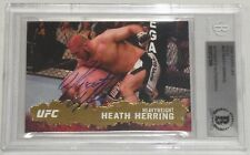 Heath Herring Signed UFC 2009 Topps Gold Card #26 BAS Beckett COA Pride FC Auto