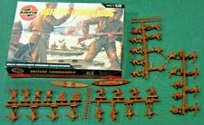 Airfix British Commandos 1/72 HO WWII MIB series I brown