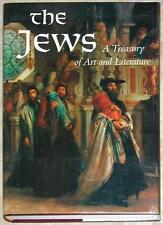 THE JEWS ~ A TREASURY OF ART & LITERATURE ~ SHARON R KELLER ~ HUGE HC