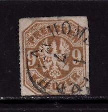PREUSSEN PRUSSIA GERMAN STATES Mi. #26 rare stamp w/ first day cancel! TOP!!