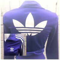 Adidas Women's Originals Track Top Size XS  Firebird Casual Jacket Purple