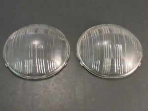 1937- 1938 Cadillac Buick LaSalle Multibeam Headlight Lenses