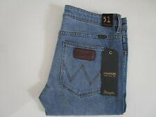 Men's Wrangler Dirty Blvd Blue Stranglers Super Slim Fit Stretch Jeans Size: 31