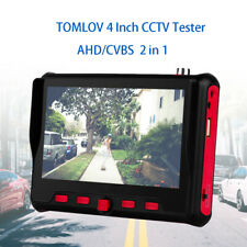 "TOMLOV Camera 4""  800RGB CCTV CVBS Monitor Tester Camera TF OSD Control 12V kit"