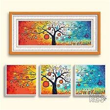 """NEW Cross Stitch Kits""""Rainbow tree"""""""