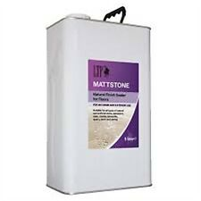 LTP Mattstone Sealer/Stainstop 5 Litre Natural Stone Tiles, Travertine etc