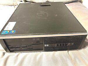 £25 PC! HP-Compaq SFF Core 2 Duo E8400 3.0GHz 8GB RAM 500GB HDD Win 10 Pro